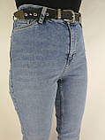 Жіночі джинси висока посадка, фото 2