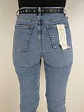 Жіночі джинси висока посадка, фото 8