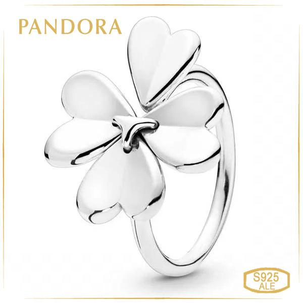 Пандора Кольцо Клевер (54) Pandora 197949