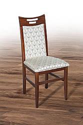 """Дерев'яний стілець """"Юлія"""" (темний горіх) від Мікс Меблі"""