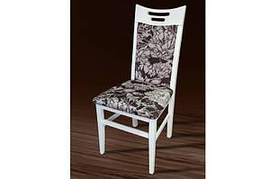 """Дерев'яний стілець """"Юлія"""" (білий) Sonata Cream 1A від Мікс Меблі"""