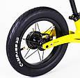 Беговел Велобег Corso Prime жовтий, фото 5