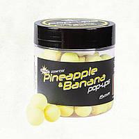 Плаваючі бойли Dynamite Baits Fluro Pop-Ups Pineapple & Banana (Ананас і Банан) 12мм