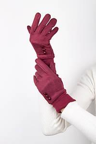 Перчатки FAMO Женские перчатки Байс бордовые One size (Bd 06550 y) #L/A