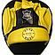 Боксерські лапи гнуті шкіра, жовті BOXER, фото 3