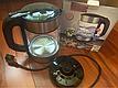 Чайник электрический стеклянный с подсветкой DSP KK1119, фото 4