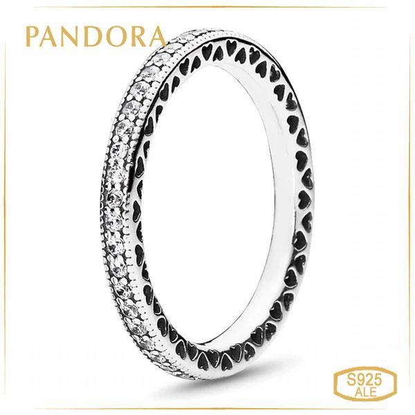 Пандора Кільце Витончені Серця Pandora (54) 190963CZ