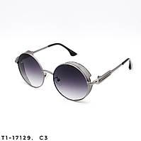 Солнцезащитные очки в стиле Стимпанк. Защита UV400. Цвет серый