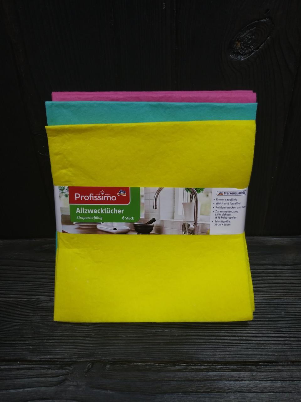 Denkmit Profissimo салфетки для уборки 6 шт