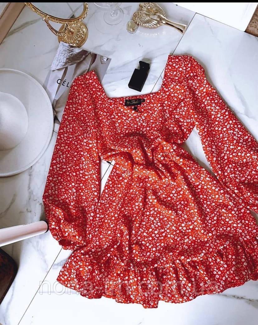 Платье женское весеннее свободного кроя
