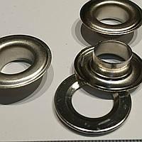 Люверс нікель 13мм діаметр внутрішній