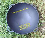 Сковорода чавунна гриль 40 см для барбекю, мангал, печі, фото 6