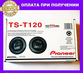 Автозвук Pioneer TS-T120 твітери (пищалки) 35W--800W