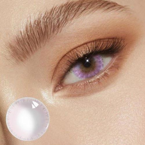 Цветные контактные линзы Розовые