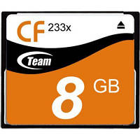Карта памяти Team Compact Flash 8GB 233x (TCF8G23301)