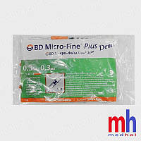 Шприц для инсулина bd micro fine plus demi 0,30 мл 30G x8 мм