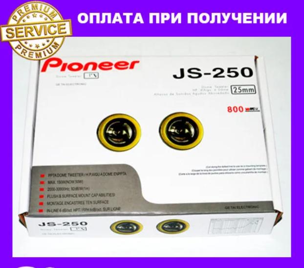 Pioneer JS-250 твітери (пищалки) 35W--800W