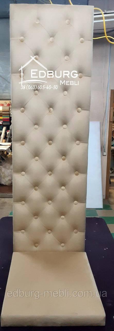 Стеновая панель и сидение в прихожую Каретная стяжка