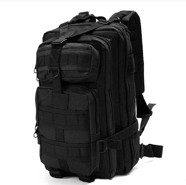 Рюкзак тактический 3D Pack Black, 15-20 л 5461