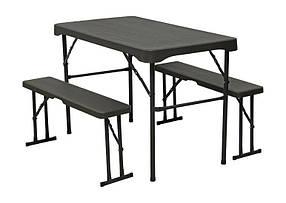 Набор мебели TE-1840, стол и лавки 2 шт.