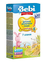 Молочная каша 7 злаков Bebi Premium, 200 г