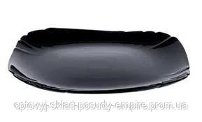 Тарелка десертная квадратная Luminarc Lotusia Black 21,5 см 7062P