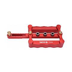 Кондуктор(Устройство)Для Сверления Отверстий YATO з диаметрами 6, 8, 10 мм, ширина 17- 50 мм