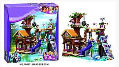 Конструктор  (10497) Спортивный лагерь: дом на дереве, 739 деталей