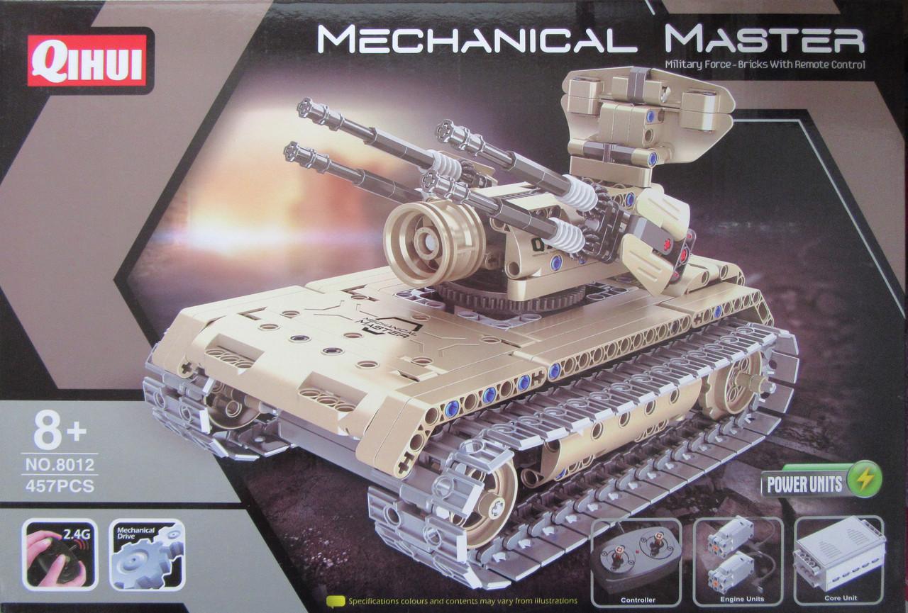 Конструктор Військова машина 457 деталі на радіоуправлінні