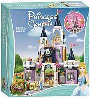 Конструктор  10892  Принцессы Дисней Волшебный замок Золушки 587 деталей