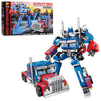 """Конструктор 621018 Робот-трансформер 8 в 1 """"Оптимус Прайм"""" 833 детали"""