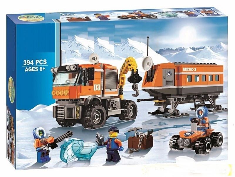 """Конструктор 10440 """"Арктична мобільна станція"""" 394 деталей"""