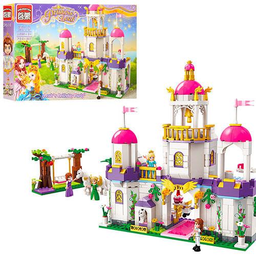 """Конструктор Брик 2610 """"Замок принцессы"""" 587 деталей"""