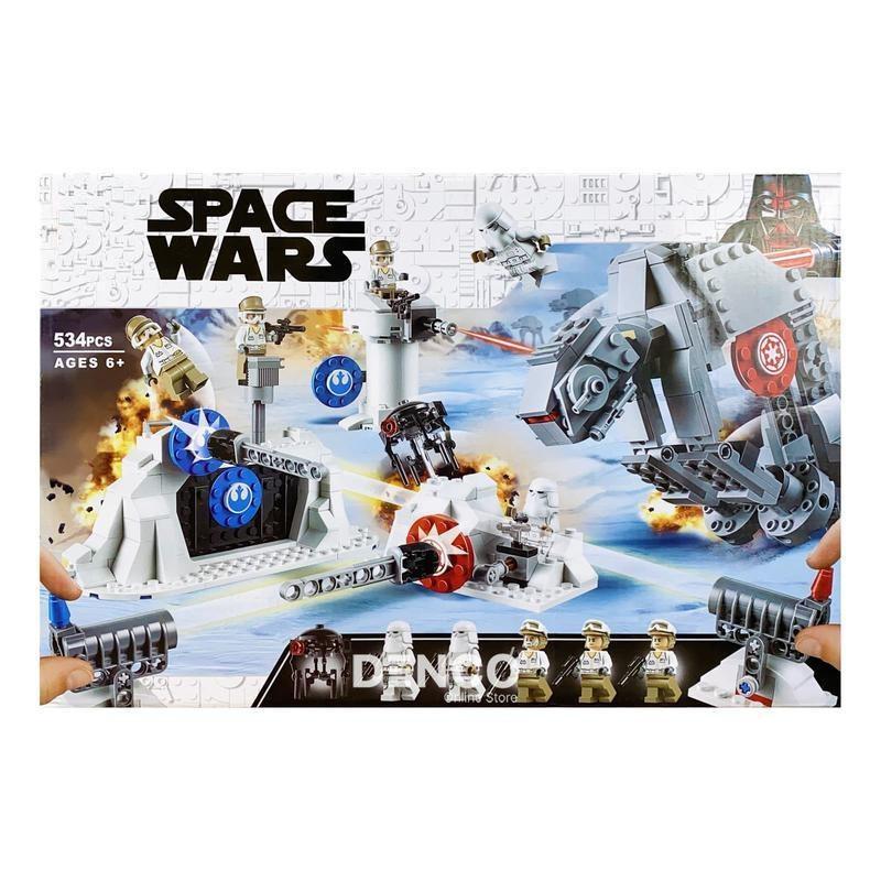 Конструктор 11423 Звездные войны Защита Базы «Эхо» 534 Детали