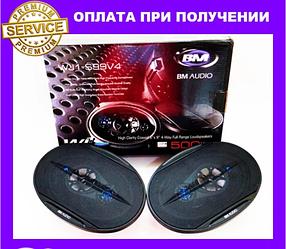 Автозвук BOSCHMANN BM Audio WJ1-S99V4 500W. 6х9см. 4х смугові