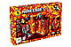 Конструктор Майнкрафт арт. 680 «Сражение в красной крепости» 856 дет. с ЛЭД подсветкой, фото 2