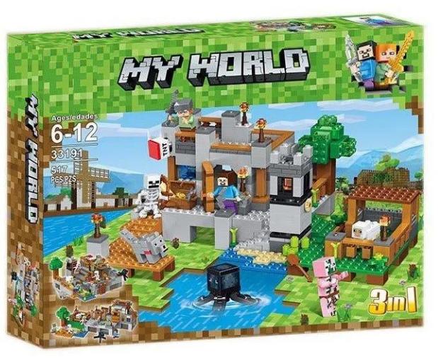 Конструктор 10471 Будиночок на дереві в джунглях (аналог Lego Майнкрафт, Minecraft 21125), 718 дет