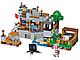 Конструктор 10471 Будиночок на дереві в джунглях (аналог Lego Майнкрафт, Minecraft 21125), 718 дет, фото 3