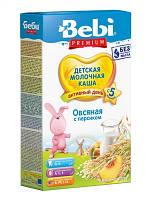 Сухая молочная каша Овсяная с персиком Bebi Premium, 250 г
