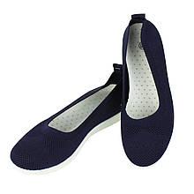 Женские слипоны (балетки) Темно-синие Artin, 36-41 размер