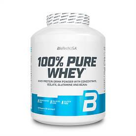 Протеїн BioTech 100% Pure Whey, 2.27 кг Банан