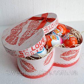 """""""Киндер-сюрприз"""" в подарочной коробке (сердце), фото 2"""