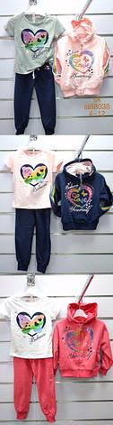 Спортивный костюм для девочек оптом, Setty Koop, 8-16 рр, фото 2