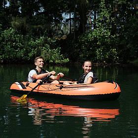 Лодка Надувная Двухместная 61102 BESTWAY