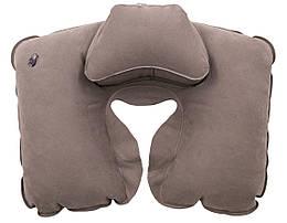 Подушка надувна під шию Tramp Lite Комфорт. Надувная подушка под шею. Подушка дорожная. Подушка в машину