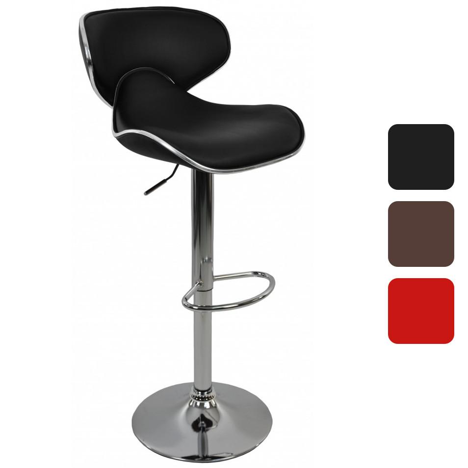 Барный стул со спинкой Bonro B-678 регулируемый стульчик кресло для кухни, барной стойки
