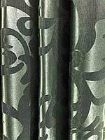Жакардова тканина в зеленому кольорі, висота 2,8 м ( С28-15), фото 3