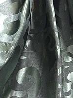 Жакардова тканина в зеленому кольорі, висота 2,8 м ( С28-15), фото 5