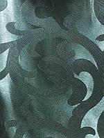 Жакардова тканина в зеленому кольорі, висота 2,8 м ( С28-15), фото 2