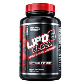 Жиросжигатель Nutrex Research Lipo-6 Black Extreme Potency, 120 капсул